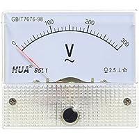 Voltmetro analogico da pannello, corrente alternata AC 0-300V, 85L1