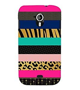 Dotted Lines Pattern 3D Hard Polycarbonate Designer Back Case Cover for Micromax Canvas HD A116 :: Micromax Canvas HD Plus A116Q