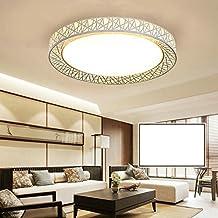 HomeLava 48W LED Lámpara de Techo Diámetro de 60 cm para Salón / Oficina / Dormitorio,Blanco