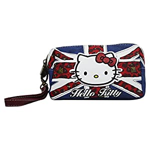 Hello Kitty England Caso Make Up Bag Bolsos Neceser Vanity Pochette