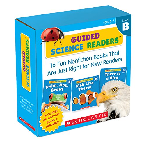 Guided Science Readers Parent Pack: Fun Nonfiction Books That are Just Right for New Readers : Level B por Scholastic Inc.