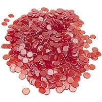 Royal Bingo Supplies 1000Pack Bingo Chips (Red)