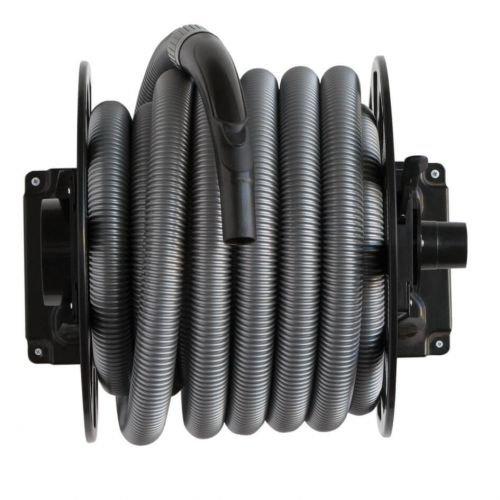 Automatischer Schlauchaufroller für Staubsauger / Zentralstaubsauger mit 11m langem Schlauch