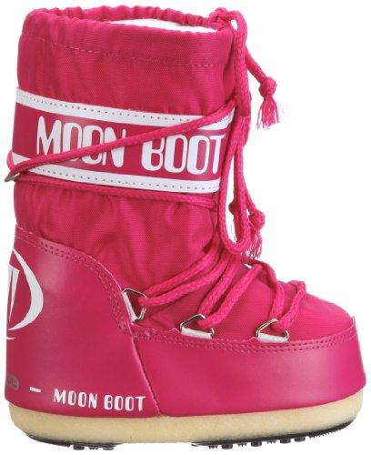 Moon Boot Nylon, Bottes de Neige mixte adulte Rose (BOUGANVILLE 62)