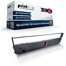 5x Drucker Schriftbänder für OKI 09002311//ML 393 Farbband TTR Drucker Pro Serie
