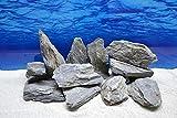Pro Stein Aquarium Deko Natursteine schwarz grau 1-2 Kg Felsen Nr.66 Rückwand Pagode Dekoration Aquascaping