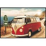 suchergebnis auf f r hippie vw bus bilder poster kunstdrucke skulpturen m bel. Black Bedroom Furniture Sets. Home Design Ideas
