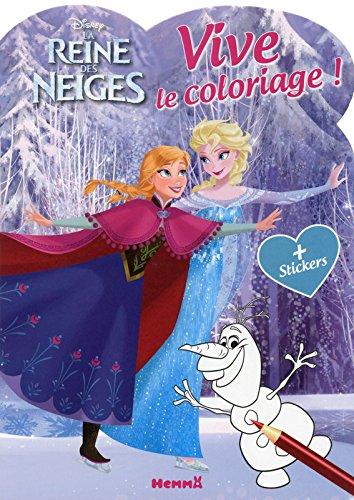 Disney - La Reine des Neiges - Vive le coloriage !