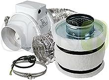 Prima Klima-Juego de ventilación con filtro de carbón activo 160m³/h