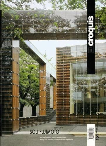 Sou Fujimoto 2003-2010. Ediz. inglese e spagnola: Croquis 151 - sou fujimoto (2003-2010) (Revista El Croquis)