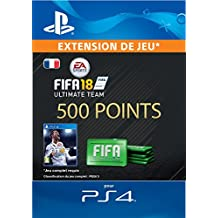 FIFA 18 Ultimate Team - 500 Points FIFA   Code Jeu PS4 - Compte français