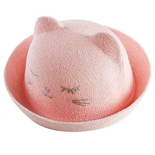 Wansan Unisex Cute Cotton Bucket Hat für Jungen und Mädchen Kleinkind Beach Fishmen Babymützen für 6M-18M
