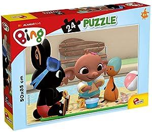 Lisciani Giochi - Puzzle Plus 24 Bing PIC Nic Juego para niños, 77977