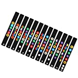 Guitar Musical Scale Sticker Guitar Neck Fretboard Note Map Fret Sticker Lables Decals Learn Fingerboard(multicolor)
