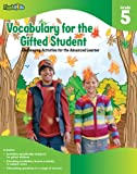 VOCABULARY FOR THE GIFTED STUDENT GRADE 5
