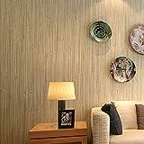 Papier peint en paille, papier peint en paille véritable, papier peint japonais simple en couleur pure, C