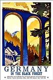 Poster 40 x 60 cm: Deutschland - Schwarzwald von Travel