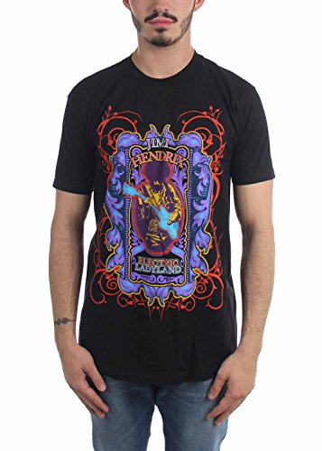 Jimi Hendrix - T-shirt - Homme - noir - XX-Large