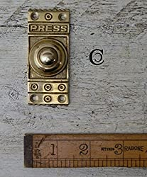HARDWARE FOR YOU ARCHITECTURAL BRASS DOOR BELL PUSH BELLS (C05)