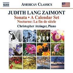 Zaimont: Sonata; A Calendar Set: Nocturne: La Fin De Siecle (2012-03-15)