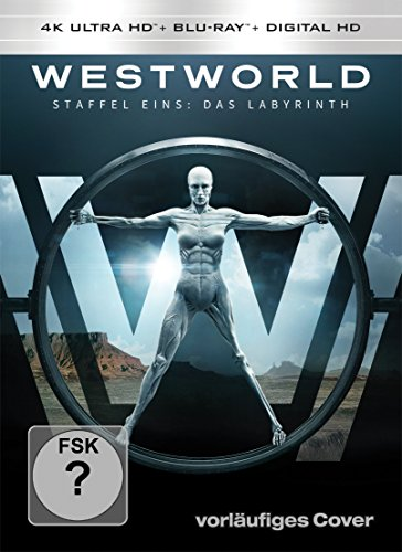 Westworld Staffel 1: Das Labyrinth - Ultra HD Blu-ray [4k + Blu-ray Disc]