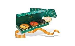VAHDAM, Set regalo per il tè assortito | 3 TEAS | Scatola di presentazione di lusso | Tè nero, tè verde, tè Chai | regali natale ���� | regali natale, regalo uomo, idee regalo