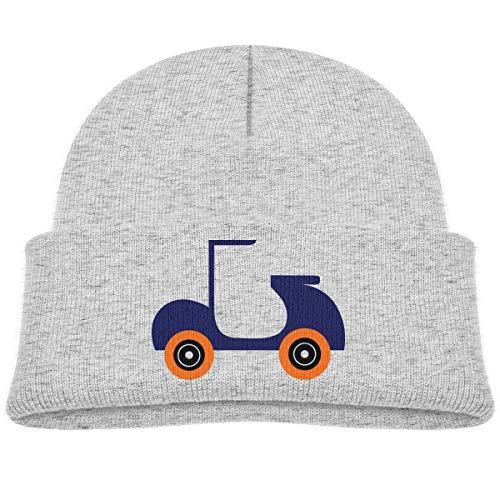 LLALUA Wood Cross Beanie Caps Knit Hats Infant - Infant Knit Beanie Orange
