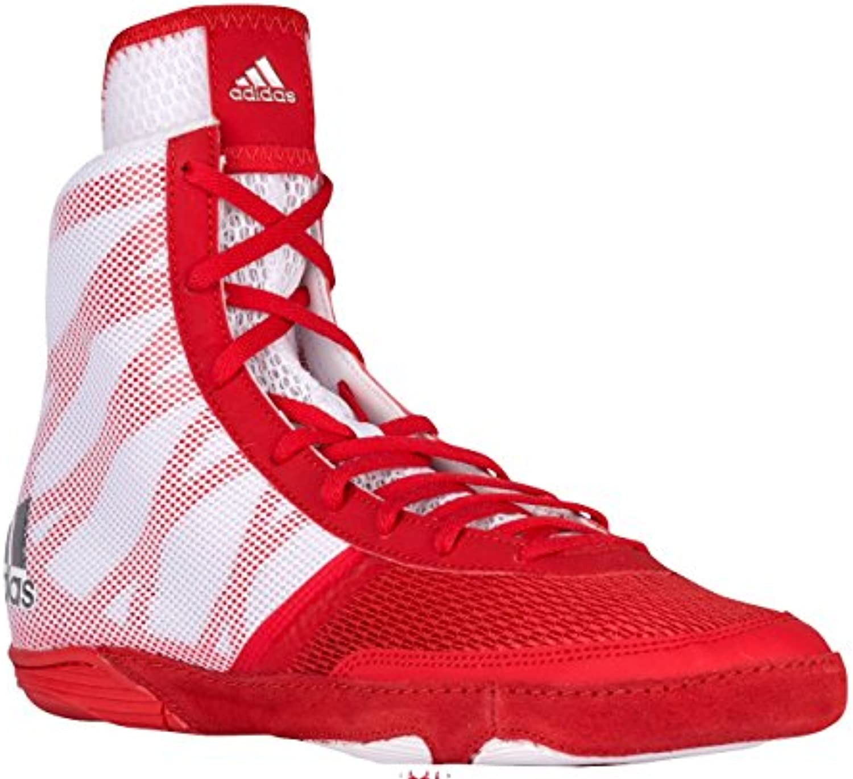 online store dfbce c1f38 adidas pretereo pretereo pretereo iii Rouge argent Blanc des chaussures de  catch 12 b8dcda