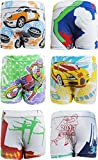 #10: UCARE Pure Cotton Multi-Coloured Trunk for Boys & Kids (6005-Pack of 6)
