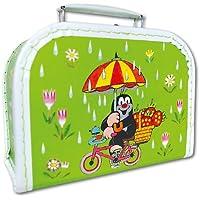 der kleine Maulwurf und die BIRNE Koffer 35 cm Krtek Puppenkoffer Kinderkoffer