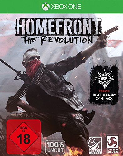 Homefront: The Revolution - Day One Edition (100{c7daf57bee444f3babbca2fa6725409bdebc6952b6fa931a4f807f103cf2d085} uncut) - [Xbox One]
