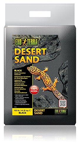 Exo Terra Desert Sand schwarz 4,5 kg, Terrariensubstrat