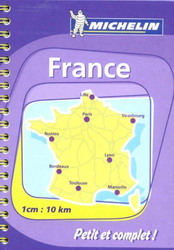 Michelin Atlas Routier France par (Couverture à spirales - Jan 4, 2007)