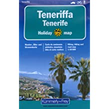 Teneriffa 1 : 50 000. Holiday Map. Wander-, Bike- und Strassenkarte