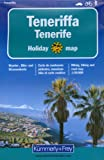 Teneriffa 1 : 50 000. Holiday Map. Wander-, Bike- und Strassenkarte -