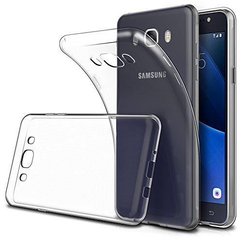 Simpeak Ersatz Samsung Galaxy J5 2016 Hülle (2 Pack), Schutzhülle Ersatz Samsung Galaxy J5 2016 Hülle Silikon Transparent [ Nicht Fits J5 2015 ] -