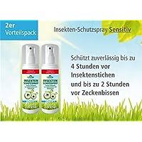 Plantacos Insekten-Schutzspray Sensitiv - 2er Vorteilspack - Schützt zuverlässig vor Insektenstichen und Zeckenbissen preisvergleich bei billige-tabletten.eu