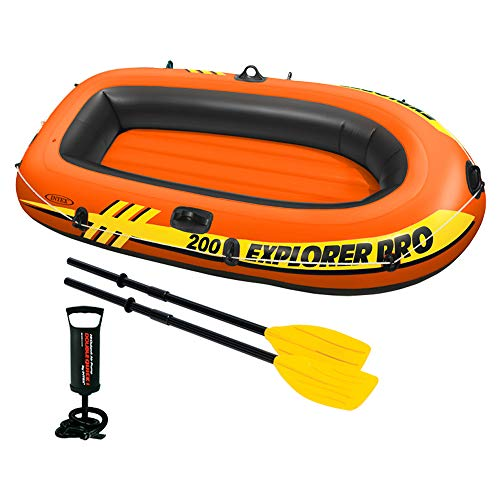 Intex Explorer Pro 200 Set Schlauchboot - 196 X 102 X 33 cm - 3-teilig - Orange -