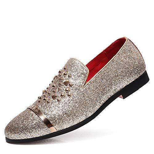 Qianliuk Männer Formelle Schuhe Elegante Hochzeit Party Kleid Müßiggänger