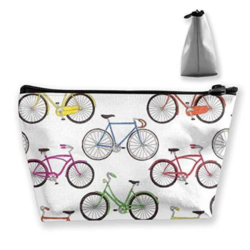 Kirschen-Kosmetiktaschen-Reise-Kulturbeutel-tragbare trapezförmige Speicherbleistift-Halter -
