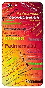 Padmamalini (Goddess Lakshmi) Name & Sign Printed All over customize & Personalized!! Protective back cover for your Smart Phone : Moto X-STYLE