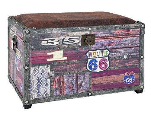 Haku Möbel 27959-Cómoda, metal, Vintage, 65 x 40 x 42 cm