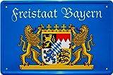 Freistaat Bayern 20x30 Blechschild 547