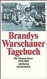 Image de Warschauer Tagebuch: Die Monate davor. 1978–1981 (suhrkamp taschenbuch)