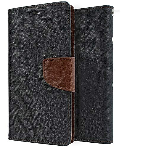 HolyCases Stylish Mercury Flip Cover for Micromax A110 Canvas 2 - Brown