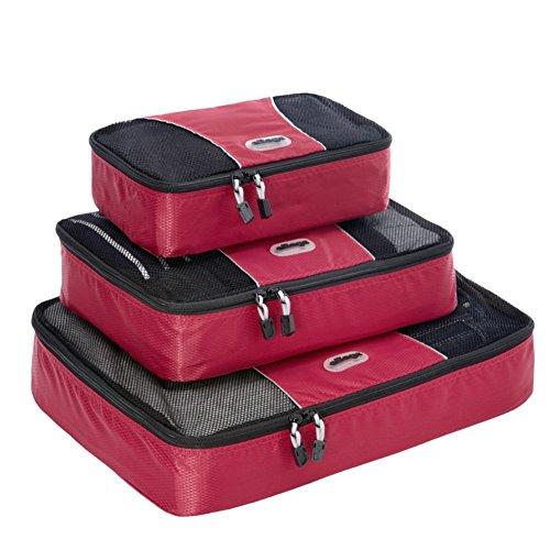 ebags-cubes-de-voyage-sacs-de-rangement-bagage-lot-de-3-framboise