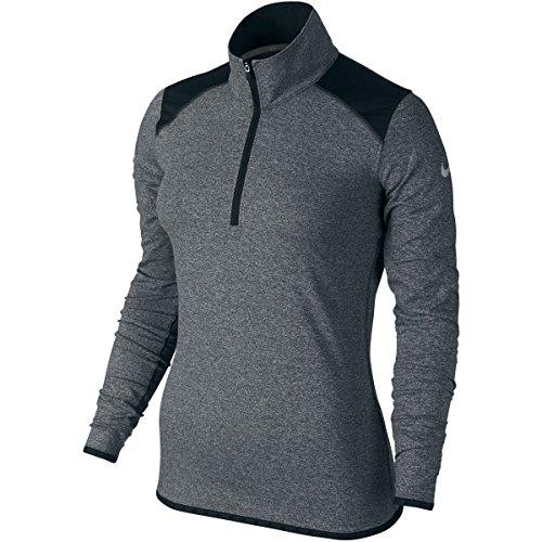 Nike Lucky 1/Azalea 2-zip 2.5Damen Langarm T-Shirt XL Schwarz (Nike 1 2 Zip)