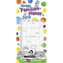 Gregs Familienplaner 2019 (Gregs Tagebuch)