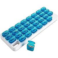 31 Herausnehmbare Medikamentenbehälter, Monatliche Pillendose von MEDca preisvergleich bei billige-tabletten.eu
