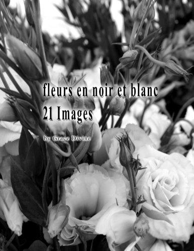 fleurs en noir et blanc 21 Images